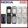 Оригинальный Nokia 6085 оригинальный Мобильный телефон разблокирована quad band Fm-радио GSM телефон Бесплатная доставка