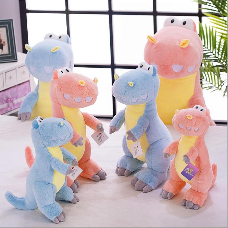 New Style Lovely Small Dinosaur Short Plush Toy Stuffed Animal Doll Children & Kids Birthday Gift