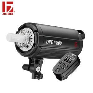 Комплект фотовспышек JINBEI DPE с ЖК-дисплеем 800 Вт, с триггером GN90, беспроводной стробоскоп с управлением, светильник для фотографии Bowens