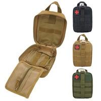Tático kit de primeiros socorros médica saco utilitário sobrevivência emt bolsa molle médica emt emergência militar caça pacote