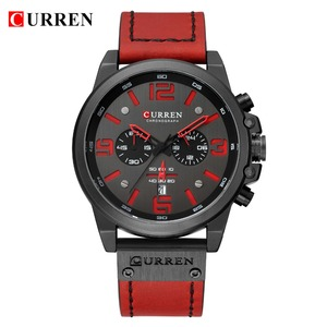 Image 2 - Reloj Hombre 2018 Casual Date Quartz  Watches For Men CURREN Fashion Leather Sports Mens Wrsitwatch Chronograph Male Watch
