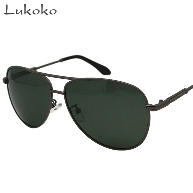 d46f098674a Lukoko Polar 400 Brand Men Sun Glasses Polarized Shades For Men Erkek  Sunglasses HD Driver Glasses Polarized Gozluk Fishing