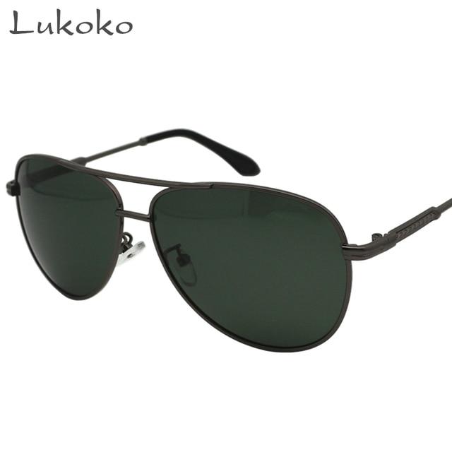 0cf17c2b7 Lukoko Polar 400 Brand Men Sun Glasses Polarized Shades For Men Erkek  Sunglasses HD Driver Glasses Polarized Gozluk Fishing