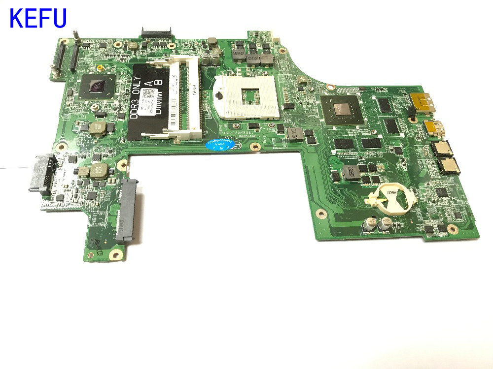 KEFU SUPER FREE SHIPPING DAV03AMB8E1 Laptop Motherboard for Dell inspiron N7110 Notebook PC VIDEO CHIP N12P-GE-A1