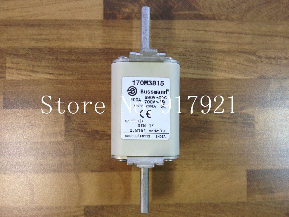 [ZOB] The United States Bussmann 170M3815 200A BUSS fuse 690V шкаф для ванной the united states housing