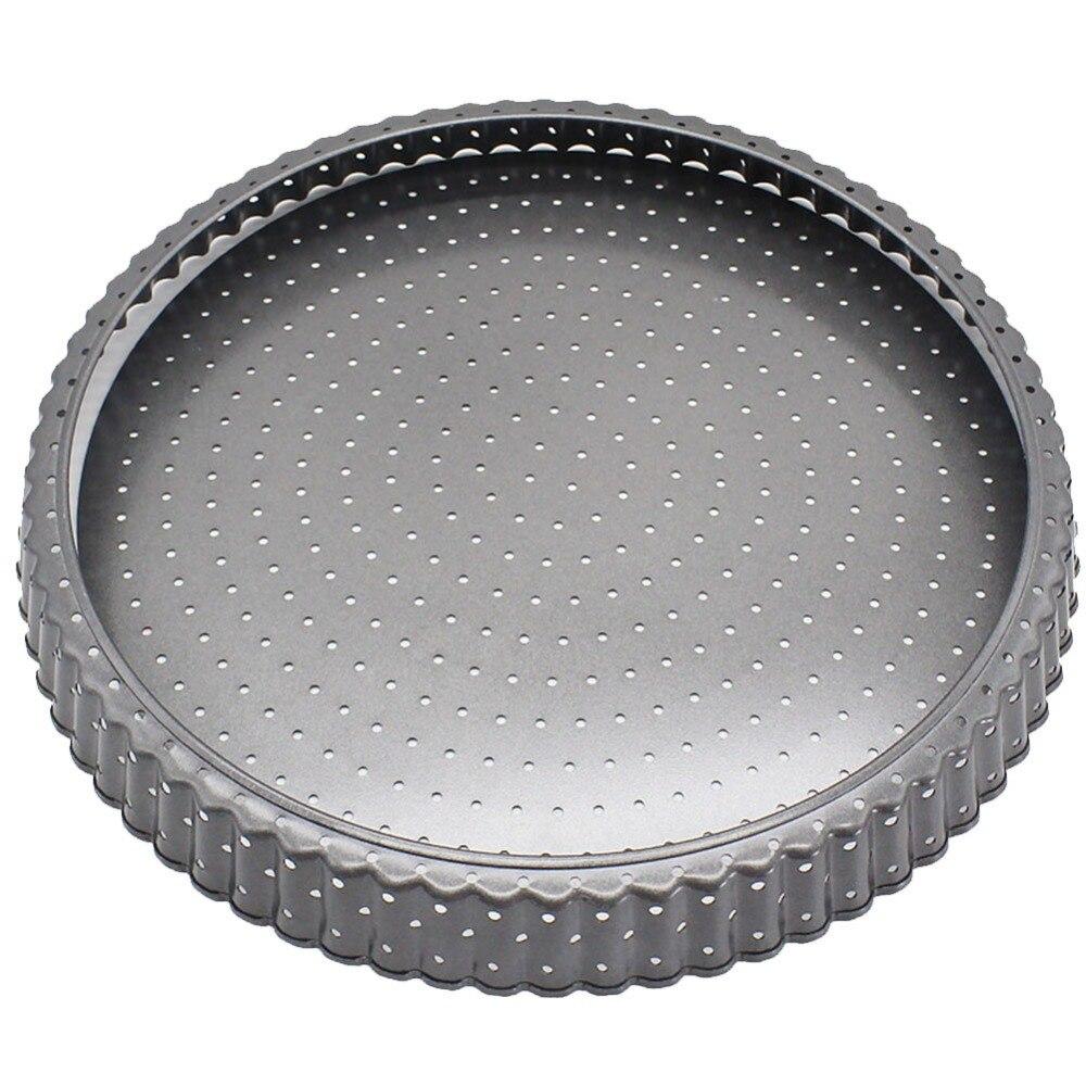 28cm Pizza Tray Mesh Seamless Aluminum Pancake Pizza Screen Baking Tray Metal Net Bakeware Kitchen Baking Tools