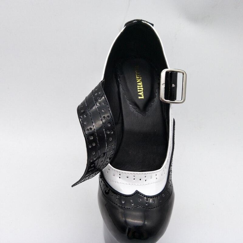 Cm Leder Frau D211 17 Designer Patent Nieten Toe Plattform Fersen Dünne Neue Braut Neueste Schuhe d062 Laijianjinxia Pumpen Peep hochzeit xA6q1IR