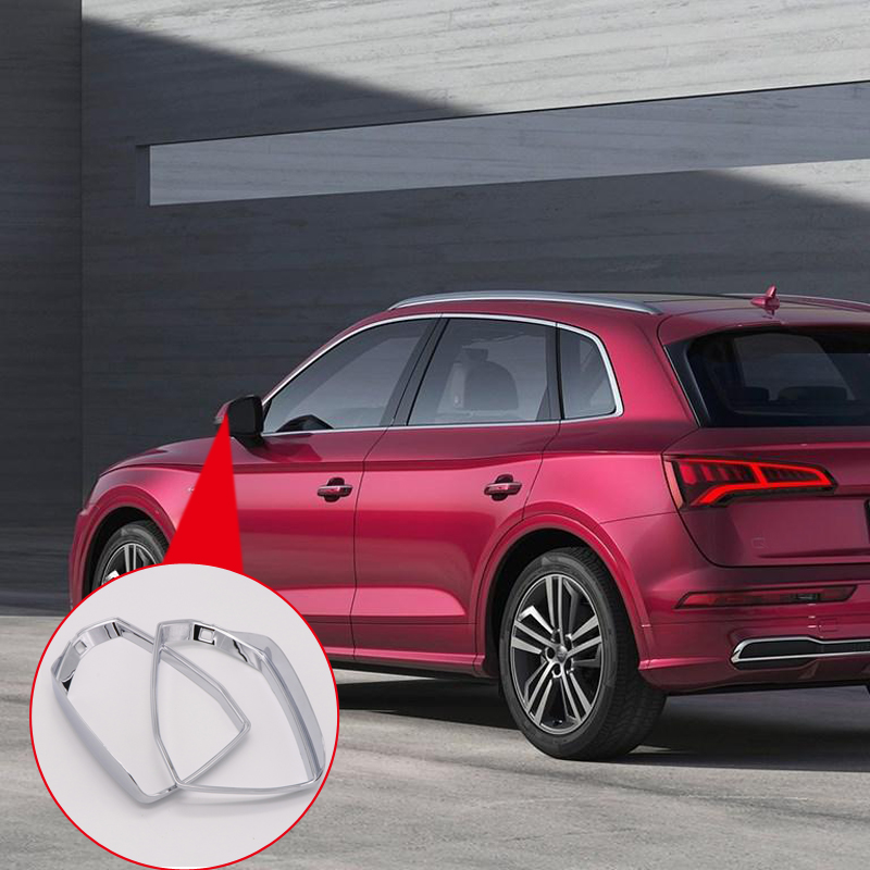 For Audi Q5 FY 2018 Accessories ABS Chrome Exterior Mirror