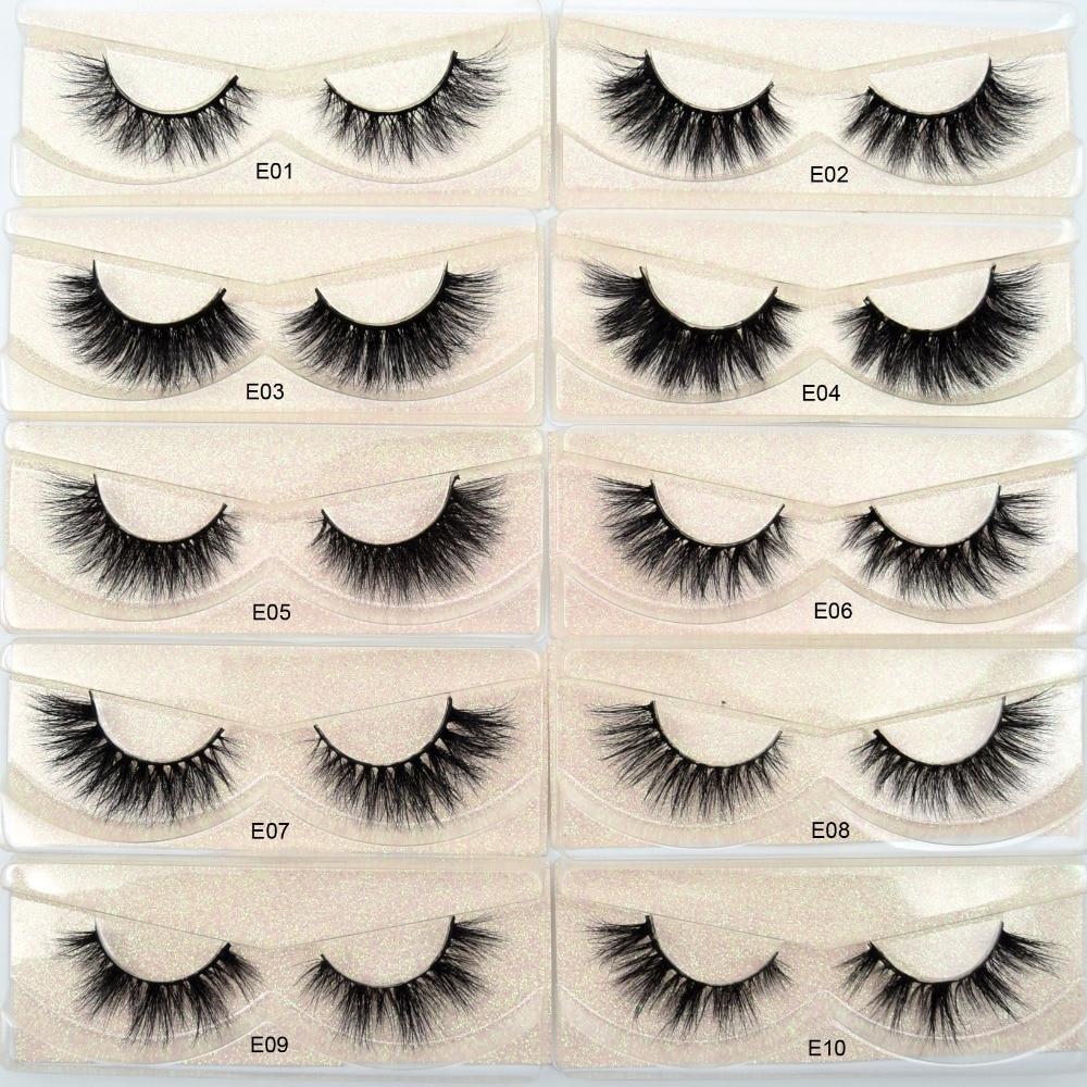 Image 4 - Free DHL 50 pairs Visofree Eyelashes 3D Mink Lashes Handmade Mink Dramatic Lashes 48styles cruelty free reusable lashes wholsale-in False Eyelashes from Beauty & Health