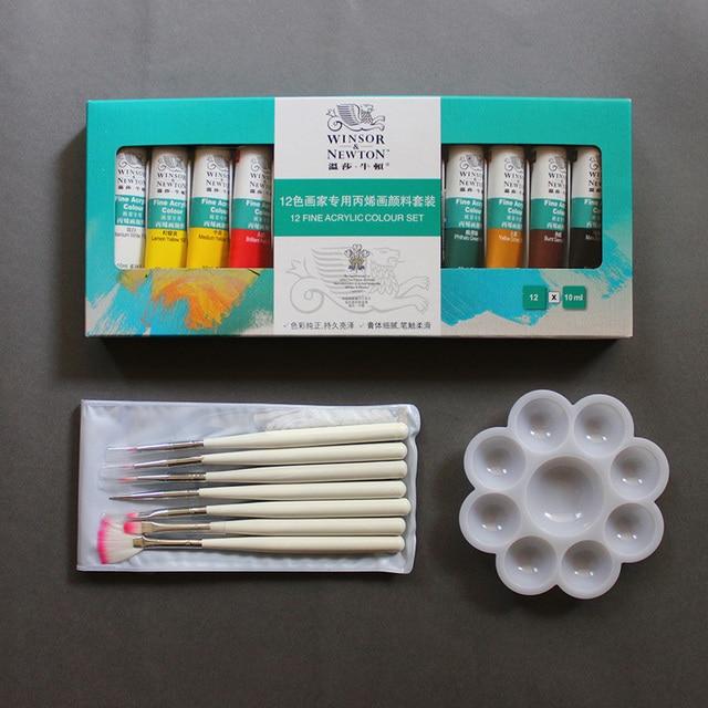 2015 Hot 12 Colors 3D Acrylic Pro Nail Art Tips Paint Tube Pigment 15 Nail Pen Kit Brush  Draw Painting