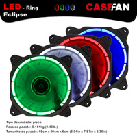 ALSEYE Computer Fan 120mm LED Cooler Cup Fan Radiator Gaming PC Water Cooling Fan 3pin 4pin