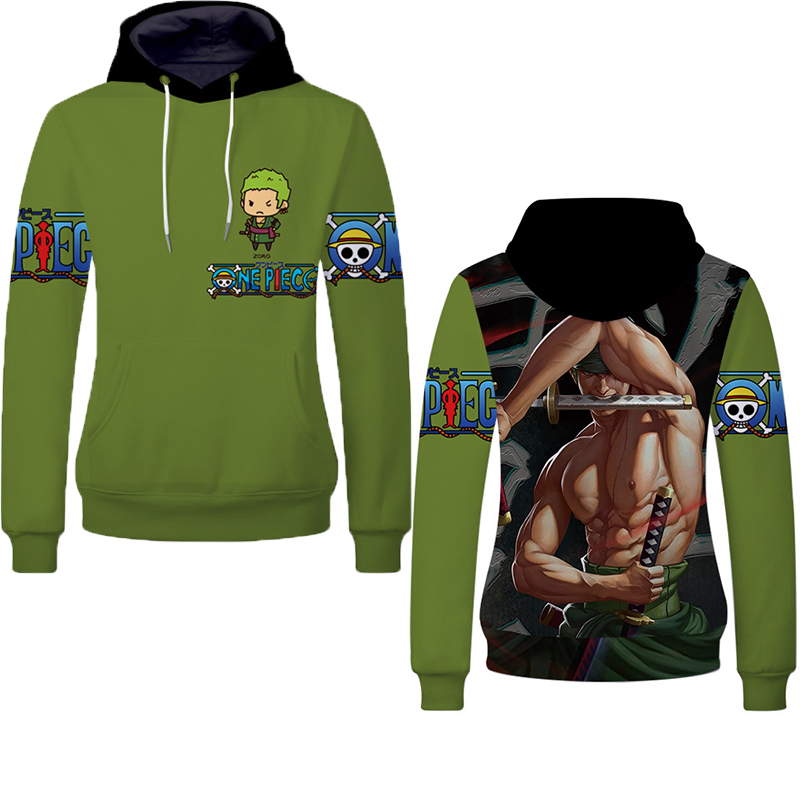 Fans Wear 2019 One Piece Unisex Hoodies for Anime 3D Print Pullover Sweatshirt Monkey D Luffy Ace Sabo Kaido