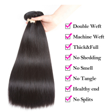 Beaudiva Human Hair Bundles With 13×4 Frontal Closure Brazilian Straight Human Hair Weave Bundles With Closure Hair Extension