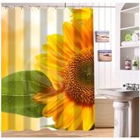 YY612f-229 New Custom flower yellow sunflowers nature #8 Modern Shower Curtain bathroom Waterproof lJ-w$229