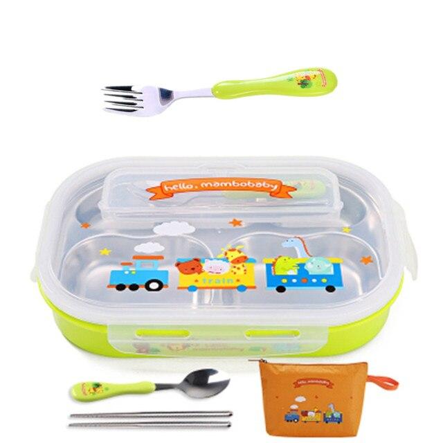 Green  fork and bag Cheap bento boxes 5c6479e2eddf7