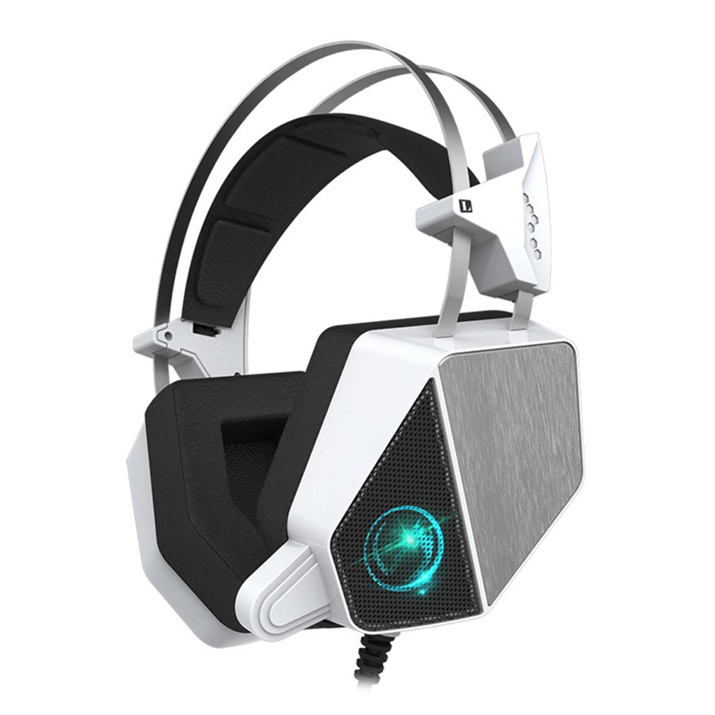 Gaming Headset Wired Earphone Gamer Headphone With Microphone Wearable 3D Bass Headphones for Computer Notebook PC