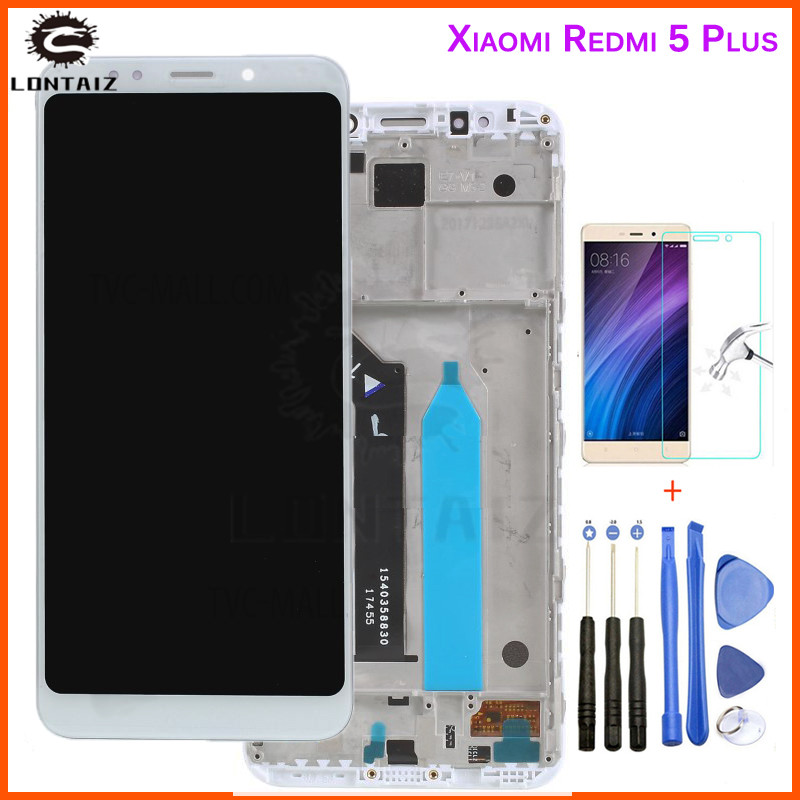 Xiaomi Redmi 5 Plus LCD Display+Touch Screen FHD 5.99' Digitizer Screen Glass Panel Assembly Xiaomi Redmi 5 Plus LCD