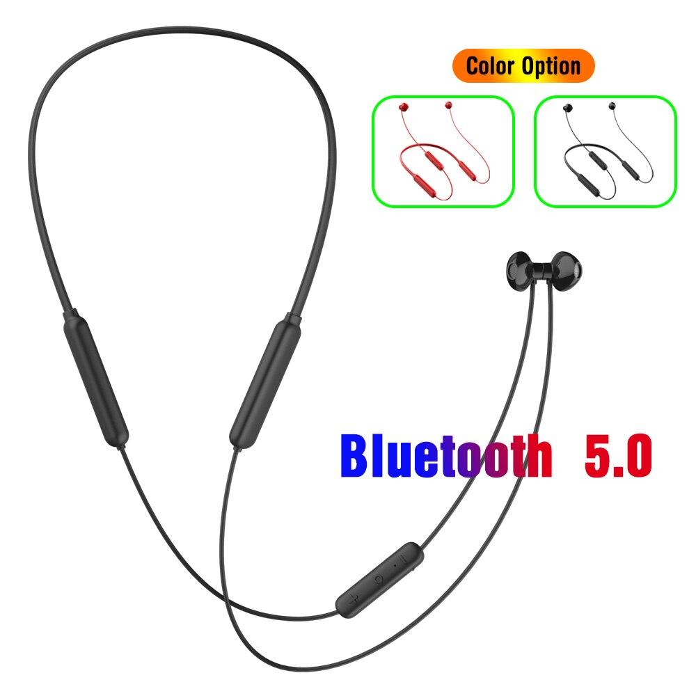 18 Hours Music Bluetooth Earphone Wireless Headphones Fast Charging HIFI IPX5 Waterproof Sports Headset V5 0