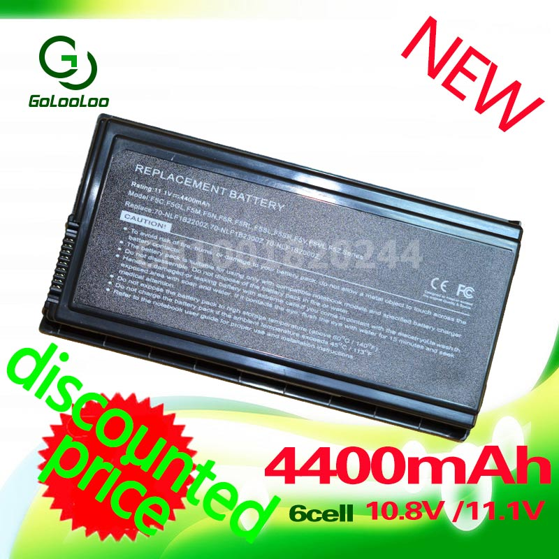 Golooloo Laptop Battery For Asus A32-F5 F5 F5C F5GL F5M F5N F5R F5RI F5SL F5V X50 F5Z X50C X50M X50N X50SL X50RL X50V X59 for asus f5r f5rl x50r x50rl laptop motherboard rev rev2 3 replace f5sl f5n motherboard fully tested 100