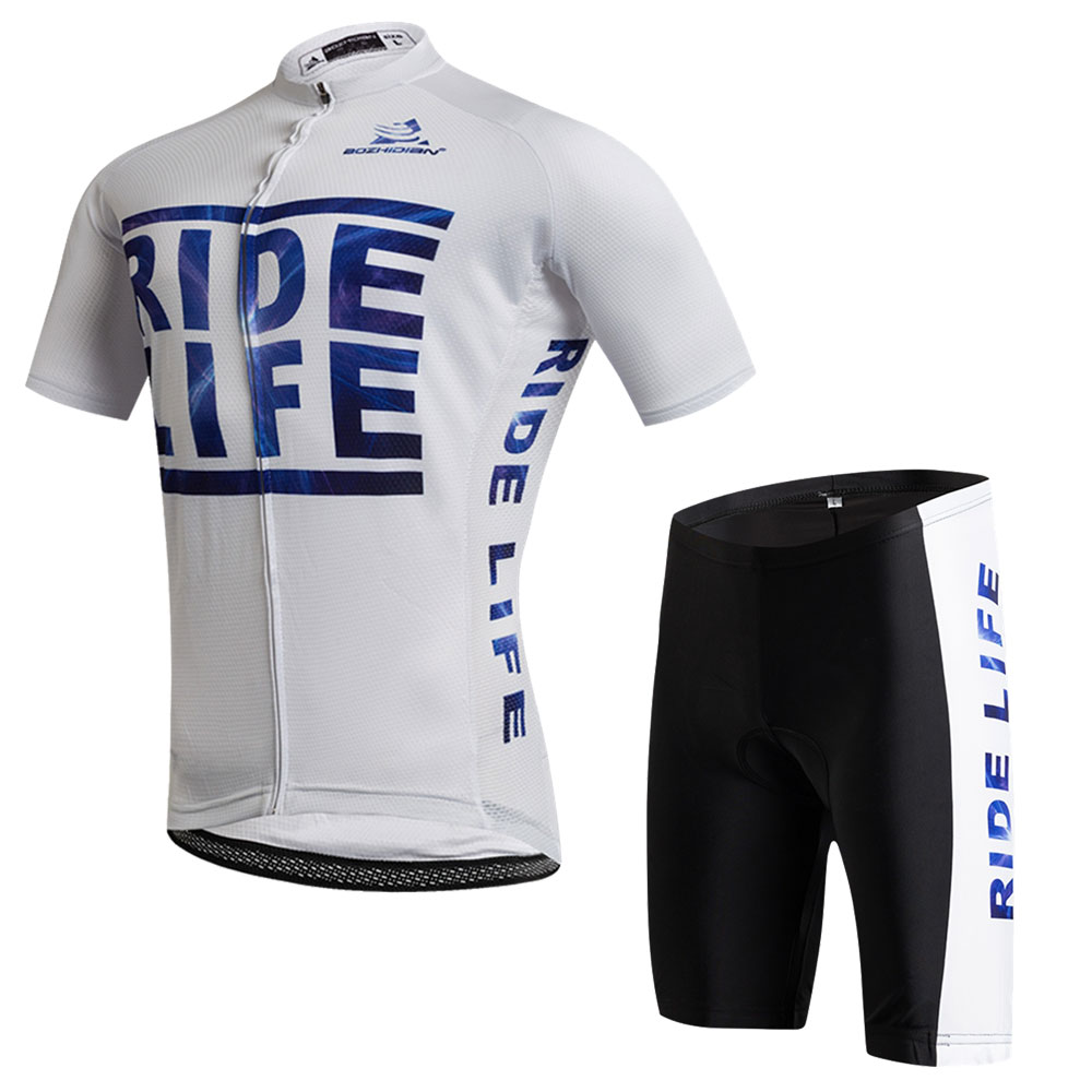Team Cycling Clothing Kit Mens Maillot Ciclismo Cycling Jersey & Mountain Bike Shorts Kit Equipe Bicycle Clothing Cycling Set