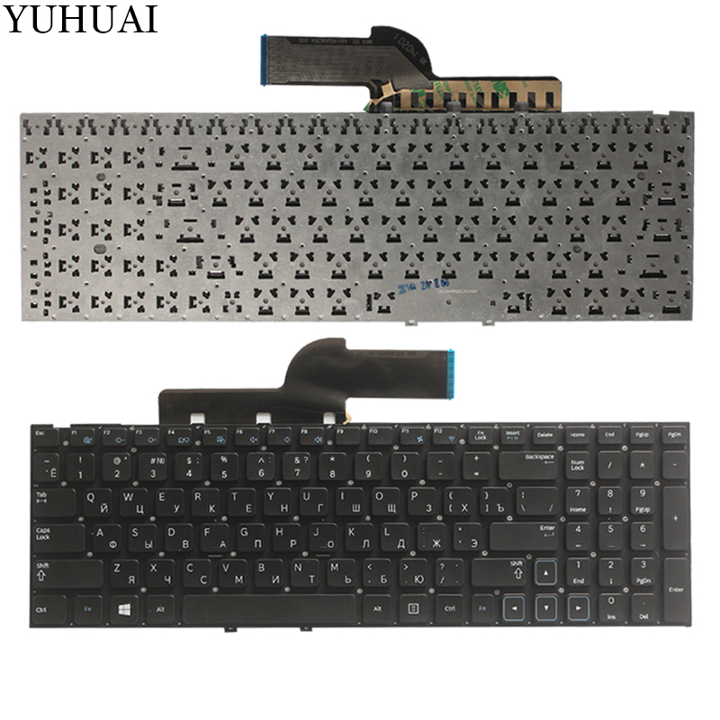 new!! For samsung NP NP300 NP300E5A NP305E5A NP300V5A NP305V5A 300E5X RU Russian laptop keyboard  No Frame-in Replacement Keyboards from Computer & Office on