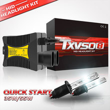 цена на 2pcs 12V 55W Xenon H7 HID Conversion Kit H1 H3 H11 9005 Bulb Auto Car Headlight Lamp 3000k 4300k 5000K 6000k 8000K 12000K