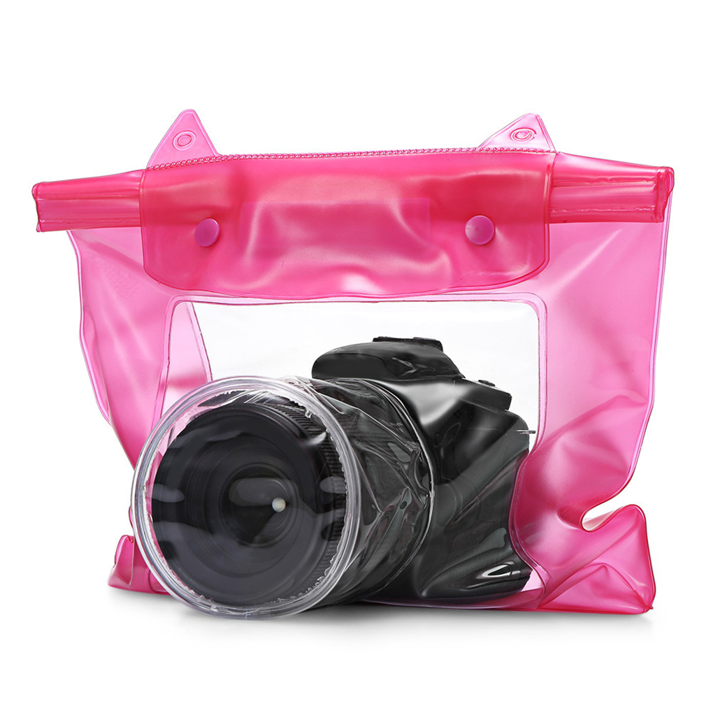 Universal <font><b>Waterproof</b></font> Camera Case DSLR SLR Camera Underwater Storage Dry Bag Transparent <font><b>PVC</b></font> Pouch image