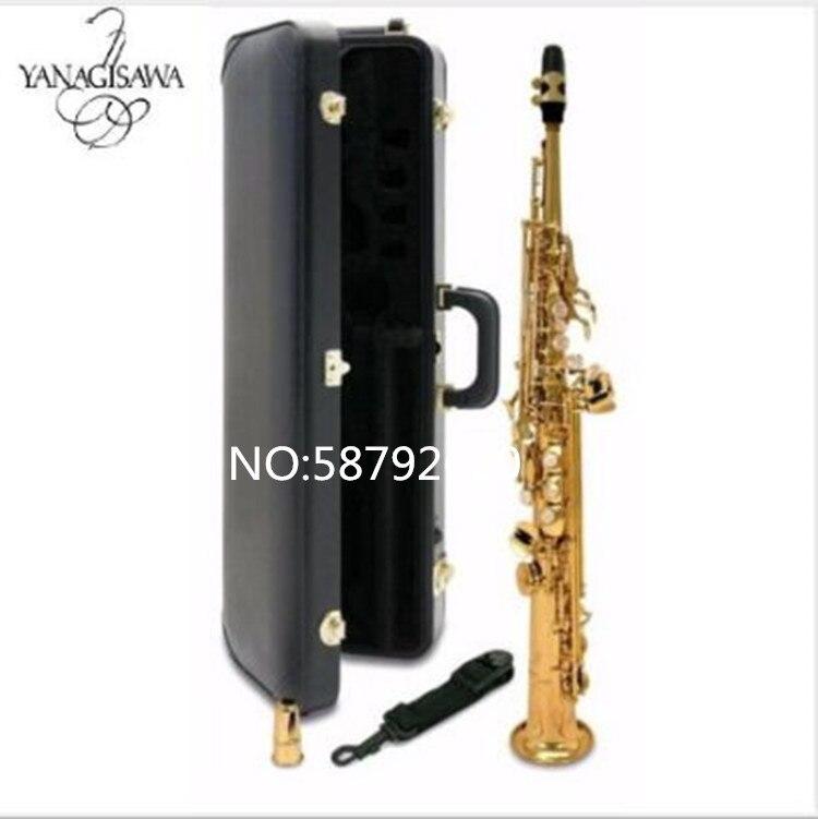 2018 nouveau japon YANAGISAWA S901 B plat Soprano saxophone qualité instruments de musique YANAGISAWA G clé Soprano navire professionnel