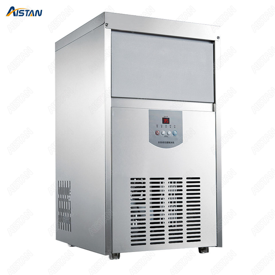 RC48 Electric Automatic Ice cube machine Ice maker Cooler 220V for refrigerator Heavy Duty Large Capacity 2