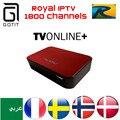 AVOV TVonline Real Vida Livre IPTV Arábica IPTV Francês França Europa IPTV 1700 Canais de IPTV Europa Escandinavo