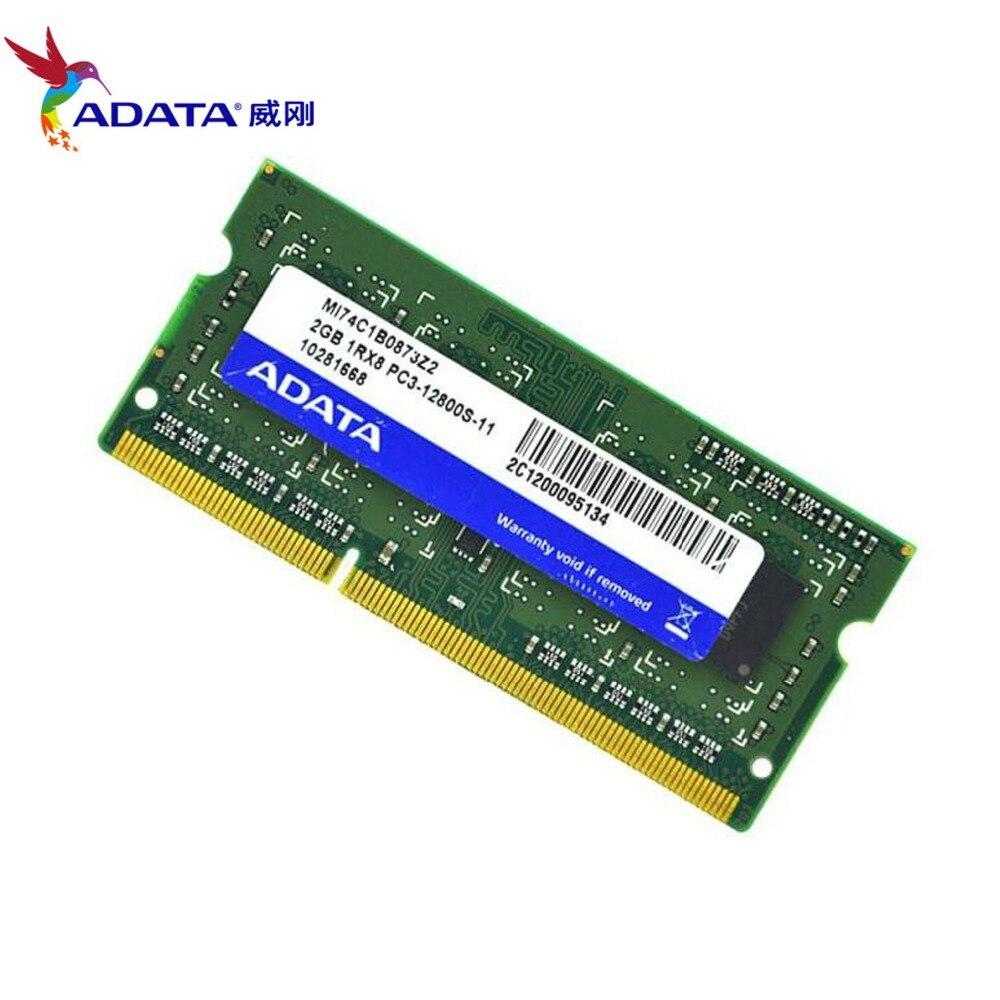 2GB 4GB 8GB PC3-12800 DDR3 1600mhz 204pin 1R//2RX8 sodimm Laptop Memory Ram lot
