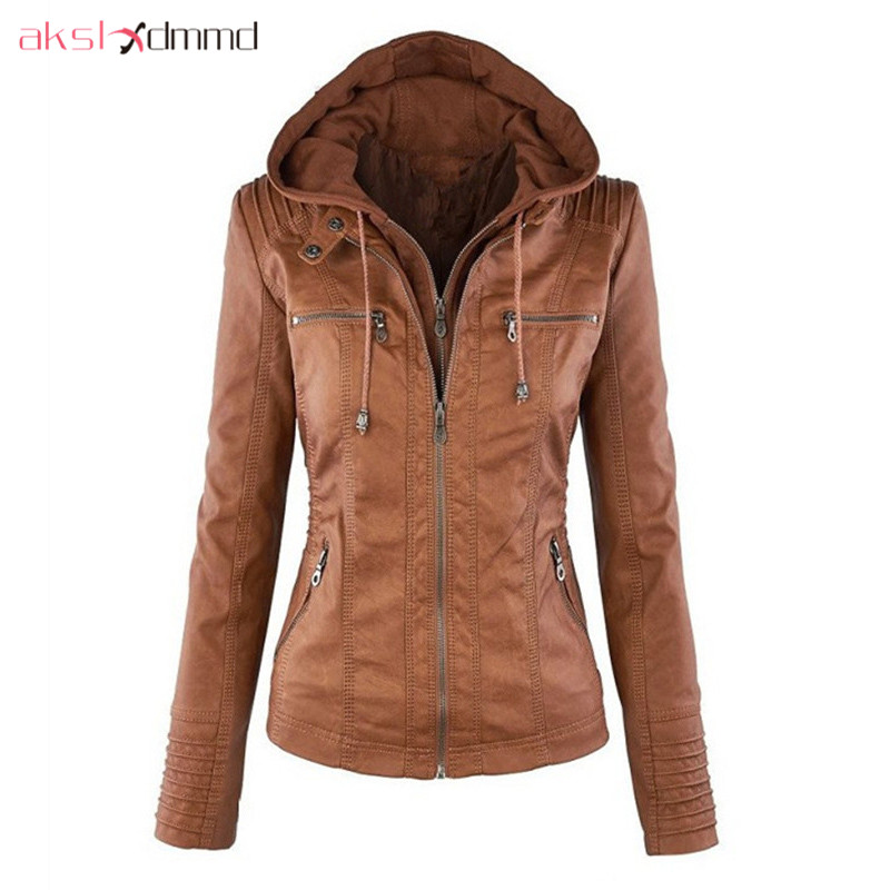 Size Akslxdmmd donna 7xl Plus Giacca 2017 in da Nuovo pelle RqagqUx