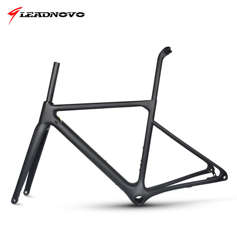 2019 Newly Disc Brake Frame Carbon Road Frame UD Matte Glossy Di2&Mechanical Racing Fiber Bike Frameset Can Customized Paint