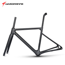 2019 Newly Disc Brake Frame Carbon Road Frame UD matte glossy Di2&Mechanical racing fiber bike frameset can customized paint ican carbon road tt bike wheel 86mm clincher tubeless ready ud matte with ican paint rim 27mm width wheels page 8