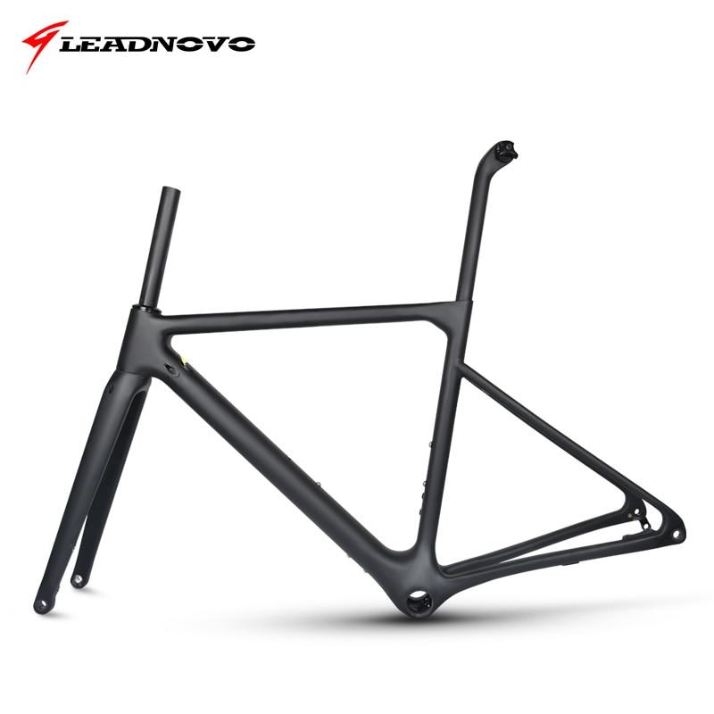 2019 Novo Quadro de Freio A Disco Quadro De Estrada de Carbono UD matte glossy Di2 & Mecânica de quadros de bicicleta de corrida de fibra pode ser personalizado pintura