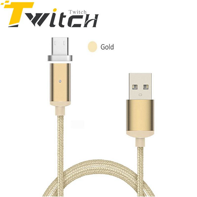 Micro usb Magnetic Cable For Samsung galaxy S6/S6 edge S7 Magnet Charging Cable Android Mobile Phone cables Microusb Data Cable