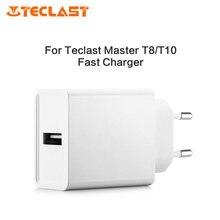 Оригинальный Teclast APS-KI018WE-G быстрое зарядное устройство белый минималистичный EU штекер для Teclast Master T8/T10 белый минималистичный дизайн