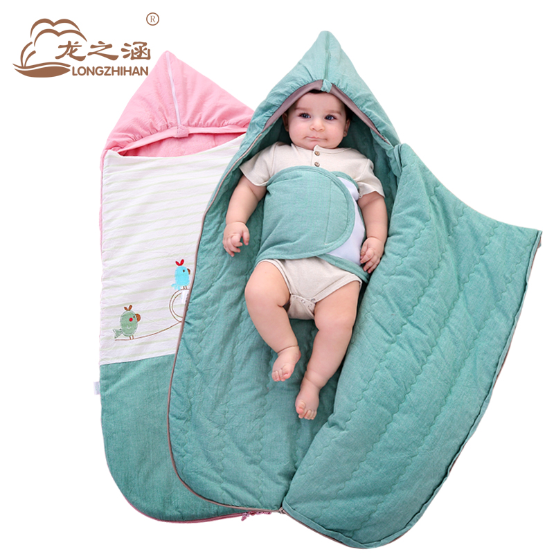 Envelopes for Newborns Baby Sleeping Bag Winter Thick Outdoor Baby Slaapzak Cotton Baby Sleep Sack Swaddle Swaddling Sleepsacks