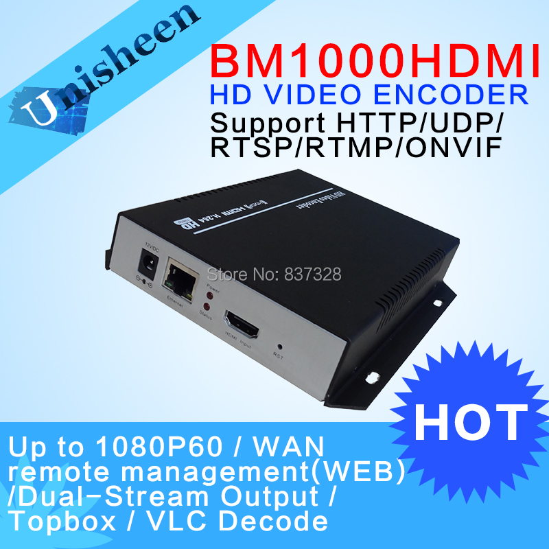 H.264 IPTV Encoder HDMI Video Encoder HDMI Encoder,Live Stream Broadcast, works with wowza, xtream codes,youtube