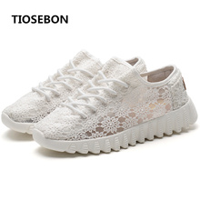 Buy Lightweight Running Shoes Sneakers Woman Breathable Lace Shoes Soft Comfort Sport Sneaker Ladies Jogging  Outdoor Footwear directly from merchant!