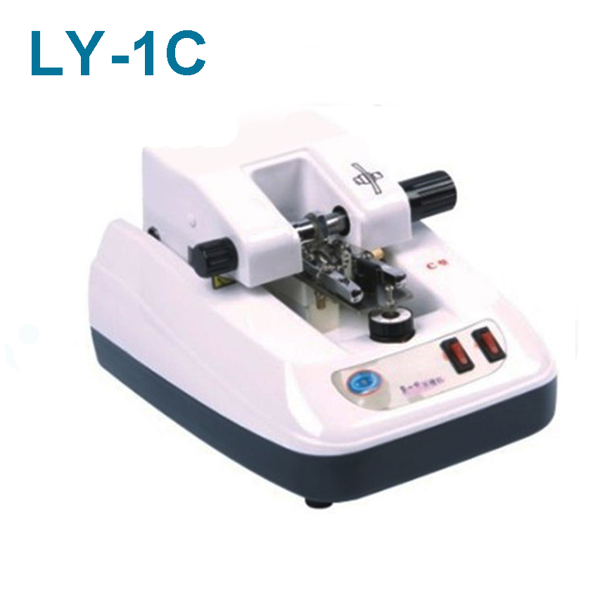 1PC LY-1C lens glasses processing equipment automatic clip slot   wire drawing machine Metal panel