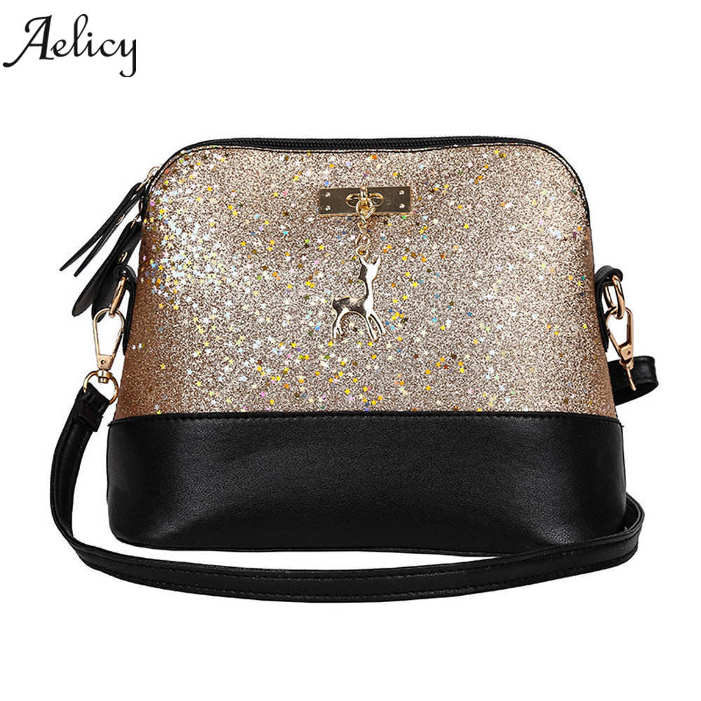 Aelicy Women Handbag Messenger-Bag Sac Main Shoulder Female Cross-Body Famous High-Quality
