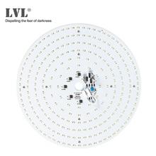 Модуль светодиодный для потолочный светильник s 40 Вт Панель светодиодный светильники для гостиной, кольцевая Светодиодная трубка светильник 220V Источник номерного знака