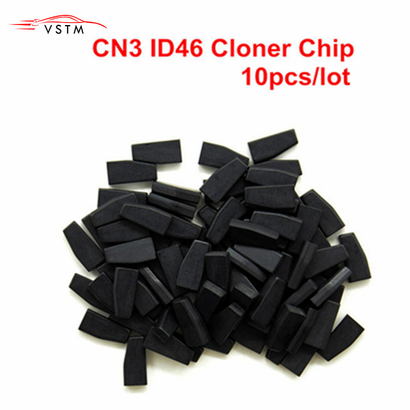 10pcs lot YS21 CN3 ID46 Cloner Chip Used for CN900 orND900 device CN3 Auto Transponder Chip