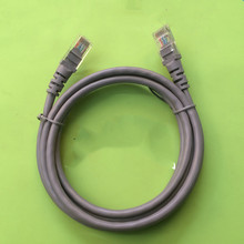 Готовый сетевой кабель 8-ядерный гигабитный кабель 1/1. 5 м серый сетевая Перемычка витая пара 1381