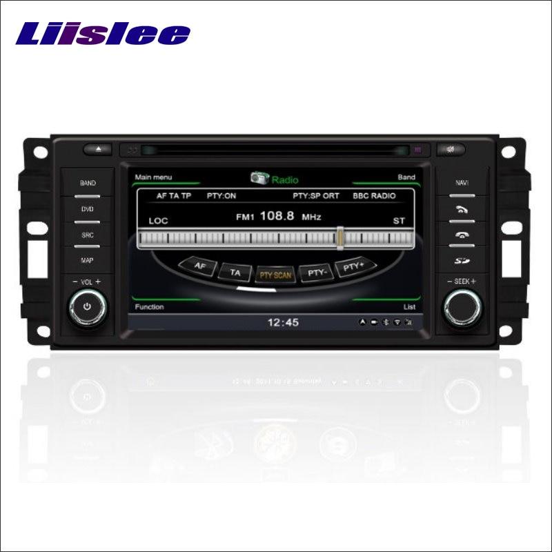 Liislee автомобиля GPS Географические карты nav Navi навигация для Jeep Wrangler 2007 ~ 2011 Радио CD, DVD, Ipod Bluetooth HD Экран s160 мультимедиа Системы