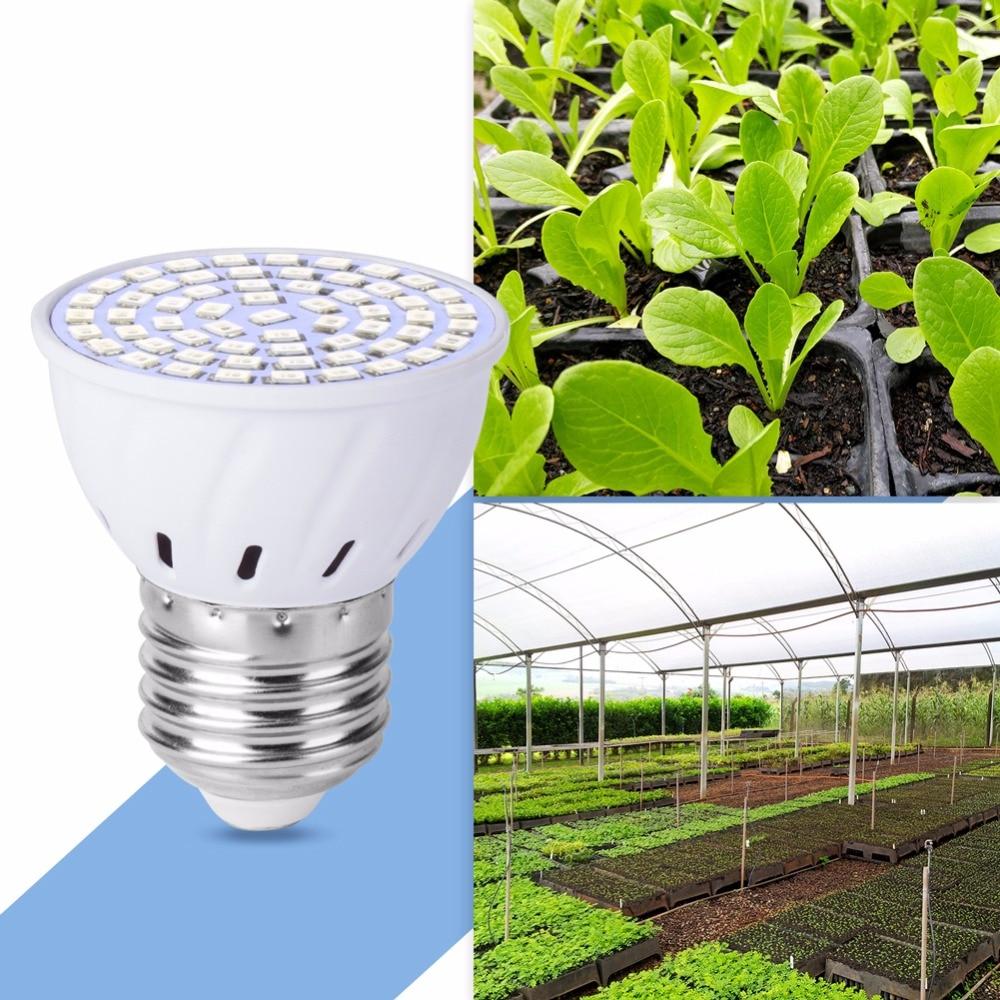 LED Grow Light E27 Full Spectrum LED Bulb E14 Plant Light GU10 Grow Lamp MR16 220V Cultivo Indoor 48 60 80 126 200leds Lamp B22