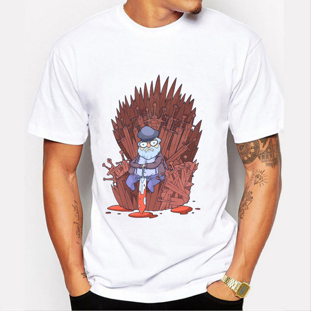 """Game of Thrones – """"Totoro on the Trone"""" Men T-shirt"""