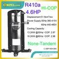 4.6HP R410a hermetische scroll-verdichter ist hohe coefficiency, kleineres volumen und umweltfreundlich