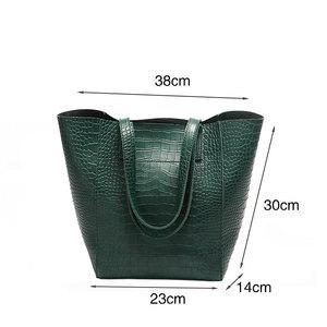Image 5 - DAUNAVIA ผู้หญิงจระเข้กระเป๋ากระเป๋าถือ Crossbody กระเป๋าสำหรับสุภาพสตรีกระเป๋า Messenger กระเป๋าออกแบบกระเป๋าถือหนัง